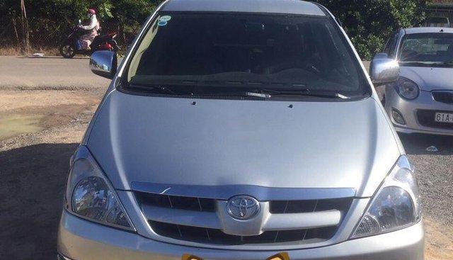 Cần bán lại xe Toyota Innova G đời 2008, màu bạc