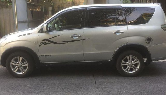 Cần bán Mitsubishi Zinger đời 2009, màu bạc, xe đẹp long lanh, máy êm