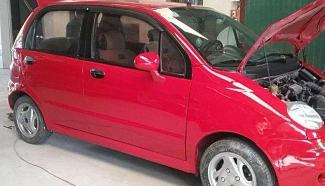 Cần bán gấp Chevrolet Matiz đời 2001, màu đỏ, nhập khẩu nguyên chiếc