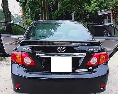 Bán Toyota Corolla GLi 1.8 AT 2009, màu đen, xe nhập, giá chỉ 475 triệu