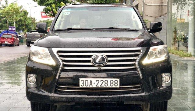 Bán ô tô Lexus LX 570 2013, màu đen, xe nhập Mỹ biển Vip LH: 0905098888 - 0982.84.2838