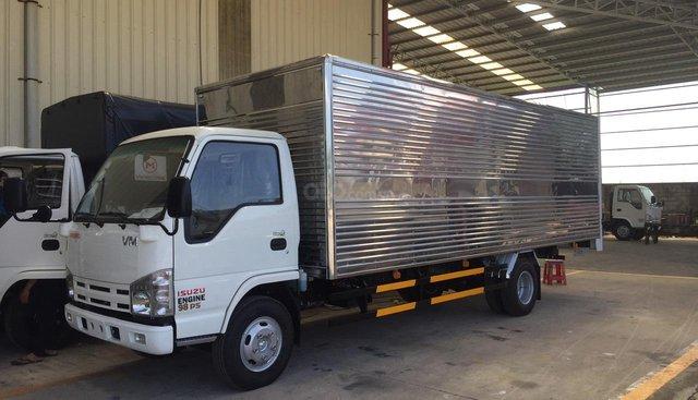 Bán Isuzu VM tải 1,7 thùng lọt lòng 6m2 x 2m x 1,9m chạy trong thành phố