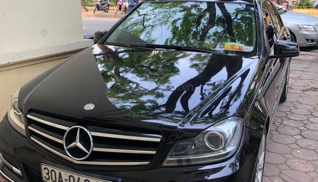 Bán Mercedes C250 full năm sản xuất 2013, màu đen, giá tốt