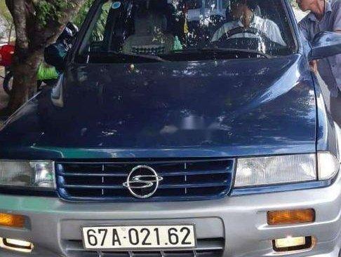 Cần bán Ssangyong Musso sản xuất 2000, xe nhập, 100 triệu