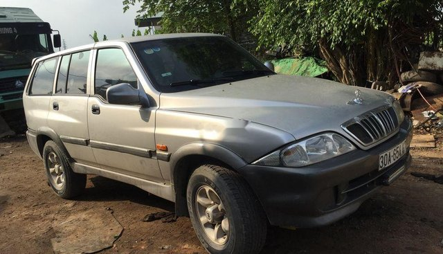 Bán Ssangyong Musso MT năm sản xuất 2002