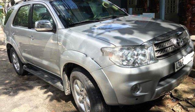 Bán Toyota Fortuner 2012, màu bạc, xe gia đình, giá 570tr