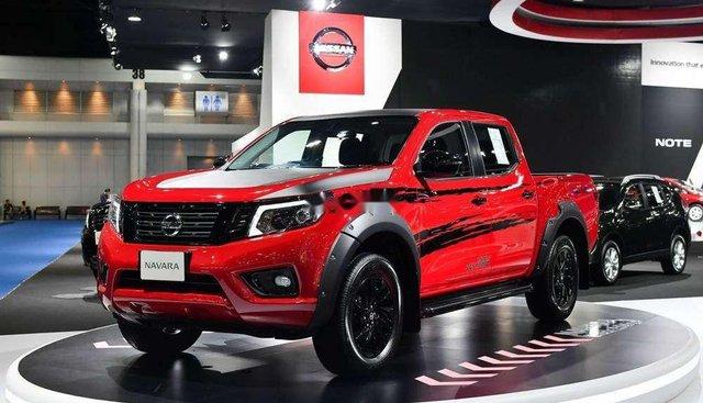 Bán Nissan Navara Black Edition năm 2019, màu đỏ, xe nhập
