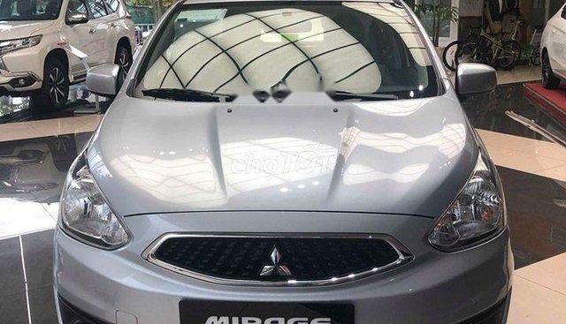 Cần bán Mitsubishi Mirage sản xuất năm 2019, màu bạc, xe nhập, 350tr