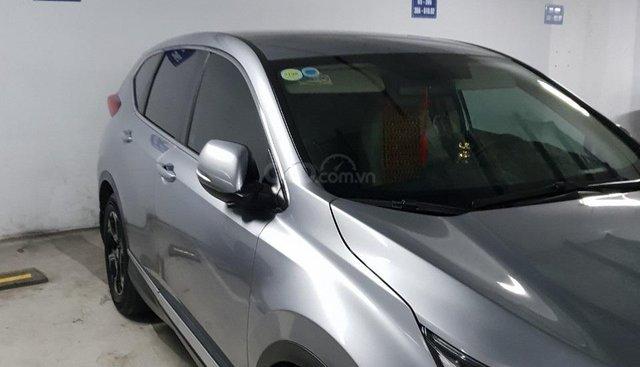 Cần bán Honda CR V E năm sản xuất 2018, màu bạc, nhập khẩu