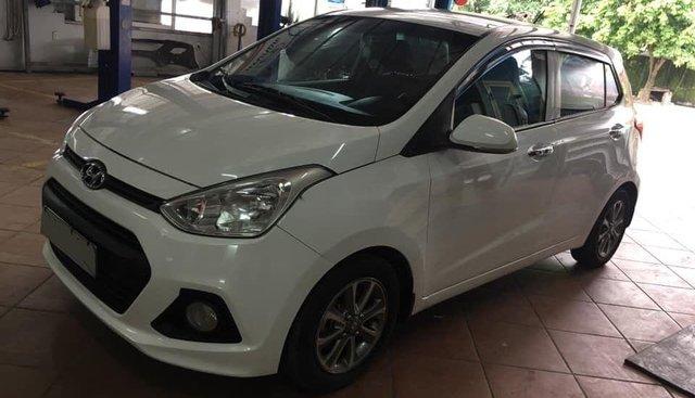 Bán Hyundai Grand i10 năm 2015, màu trắng, nhập khẩu