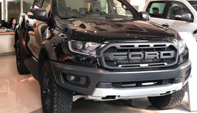 Bán Ford Ranger Raptor sản xuất 2019, màu đen, nhập khẩu