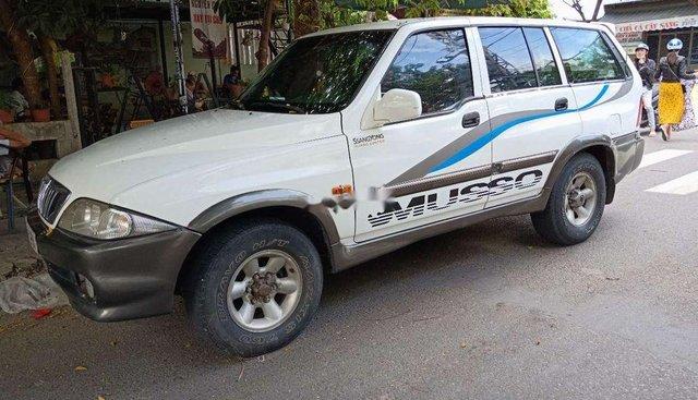 Bán Ssangyong Musso năm 2002, màu trắng, nhập khẩu