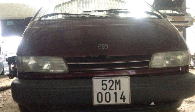 Bán Toyota Previa 1990, màu đỏ, nhập khẩu nguyên chiếc, 97 triệu