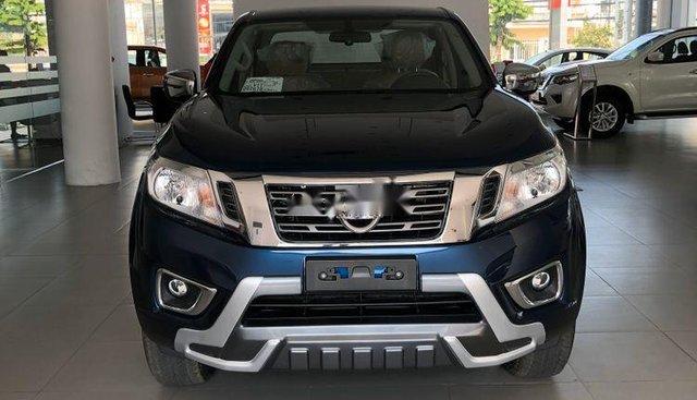 Bán Nissan Navara EL 2019, màu xanh lam, nhập khẩu Thái