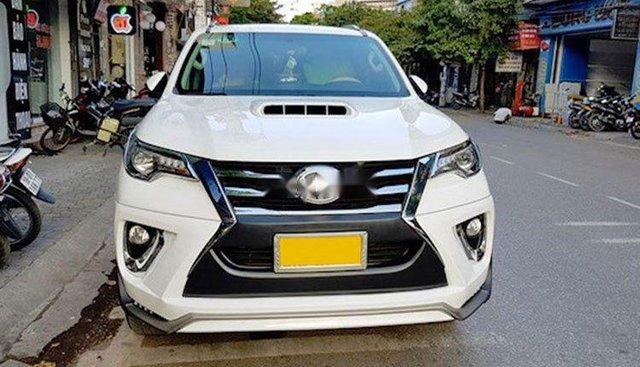 Bán ô tô Toyota Fortuner đời 2017, màu trắng