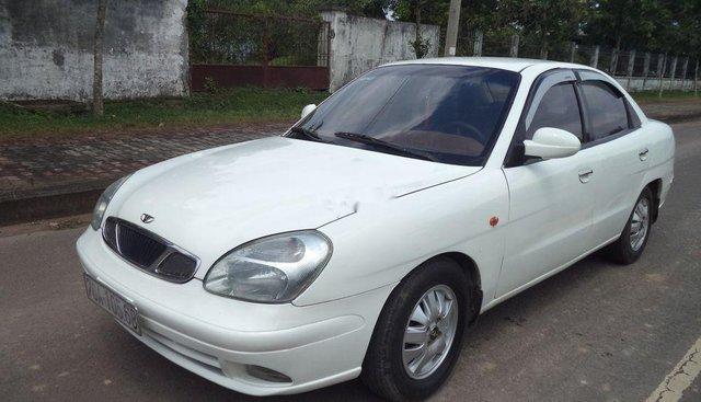 Bán ô tô Daewoo Nubira năm 2003, màu trắng ít sử dụng, 95tr