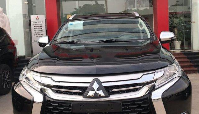 Bán Mitsubishi Pajero Sport 2019, màu đen, nhập khẩu