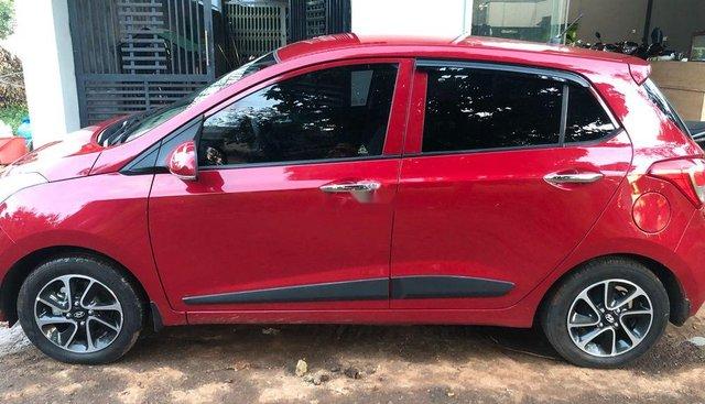 Bán ô tô Hyundai Grand i10 MT đời 2018, màu đỏ, giá tốt