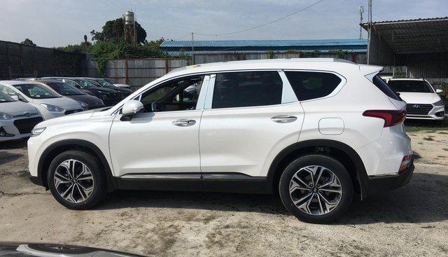 Bán Hyundai Santa Fe Premium sản xuất năm 2019, màu trắng