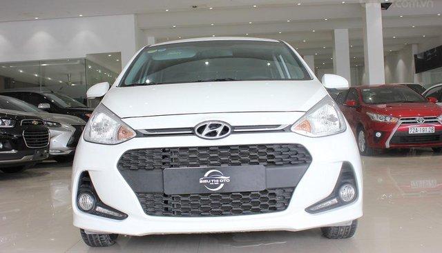 Hyundai Grand i10 2018, số sàn, màu trắng