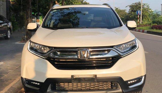 Bán Honda CR V L đời 2018, màu trắng