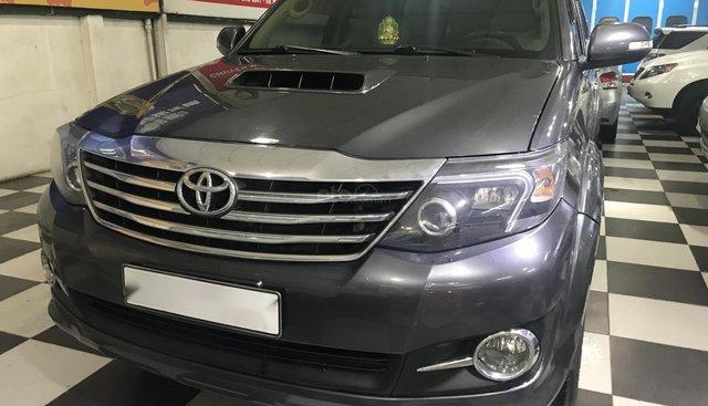 Bán Toyota Fortuner G năm 2015, màu xám (ghi)