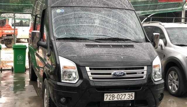 Bán Ford Transit 2.4 MT năm 2018, màu đen, giá tốt