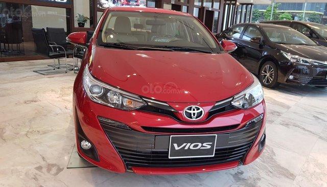 Bán ô tô Toyota Vios G năm 2019 giá sập sàn kèm nhiều khuyến mãi. Liên hệ 0941115585