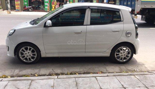 Bán xe Kia Morning đời 2012, màu trắng