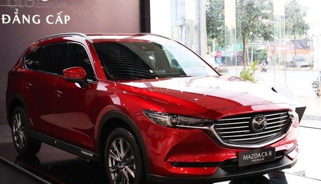Bán Mazda CX8 màu đỏ pha lê mới