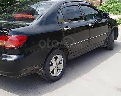 Bán Toyota Corolla altis sản xuất 2003, màu đen, xe gia đình