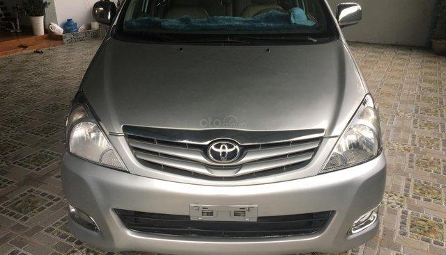 Bán ô tô Toyota Innova G sản xuất 2008, màu bạc