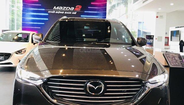 Mazda CX8 2019 tiện nghi dành cho gia đình thân yêu