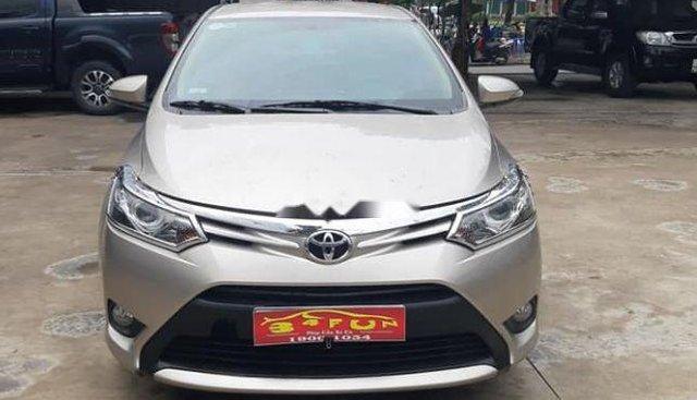 Bán Toyota Vios G sản xuất 2018, màu vàng cát