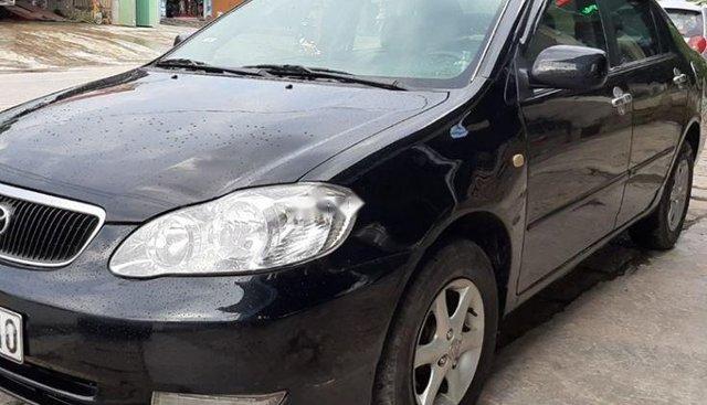 Bán Toyota Corolla altis đời 2002, màu đen, 225tr