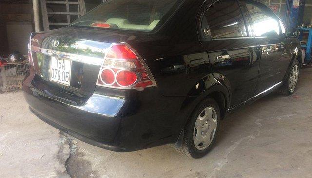 Bán xe Daewoo Gentra sản xuất 2007, màu đen, nhập khẩu nguyên chiếc