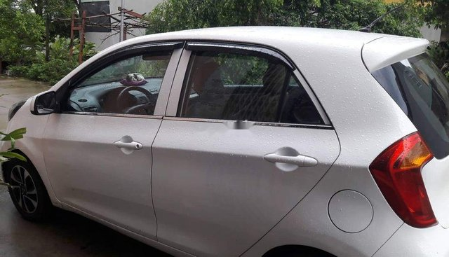 Cần bán xe cũ Kia Morning 1.25 2014, màu trắng