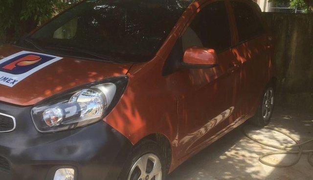 Bán Kia Morning sản xuất 2015, màu đỏ cam