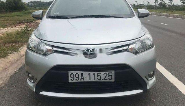 Bán ô tô Toyota Vios E sản xuất 2016, màu bạc