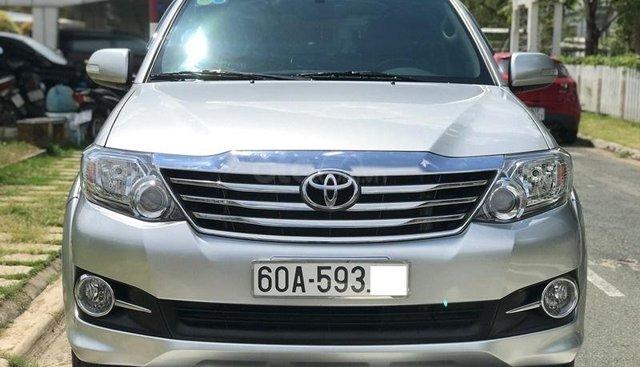 Bán Toyota Fortuner V sản xuất năm 2016, màu bạc, xe như mới tinh