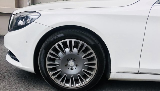 Xe gia đình cần bán Mercedes-Benz S class S500 lên full Maybach