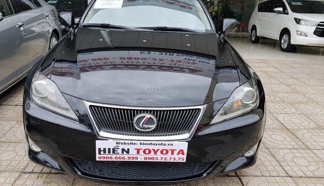 Cần bán Lexus IS 2.5 sản xuất 2007, màu đen, nhập khẩu