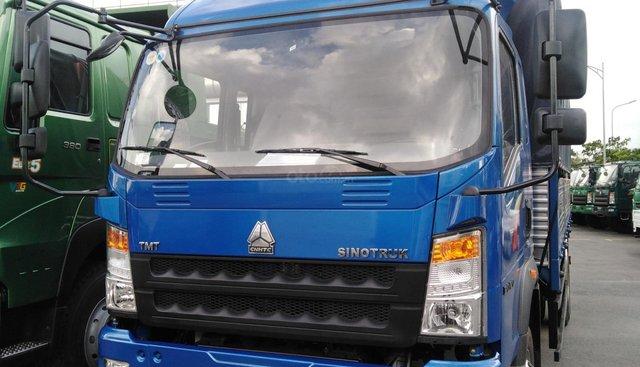 Bán xe tải Howo 7T5 thùng 6m2 ga cơ giá rẻ trảgóp