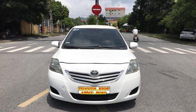 Bán Toyota Vios 1.5MT đời 2010, màu trắng, nói không với lỗi nhỏ, cực chất luôn