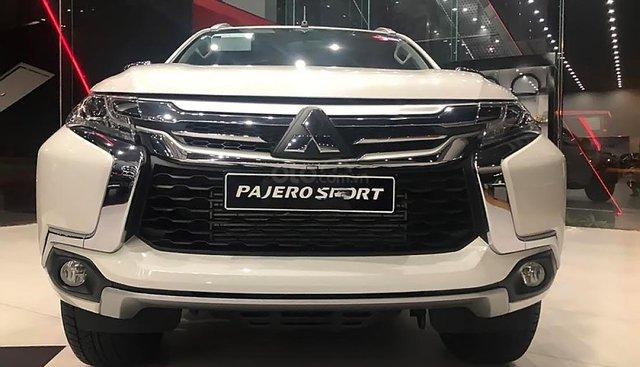 Bán Mitsubishi Pajero Sport đời 2018, màu trắng, nhập khẩu nguyên chiếc từ Thái Lan, tiết kiệm nhiên liệu