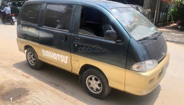 Bán xe Daihatsu Citivan 1.6 MT 2004, màu xanh lam chính chủ, nội thất màu ghi