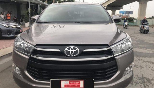 Bán Innova E 2019 lướt 4.900km nâu đồng - xem xe giảm từ 30tr