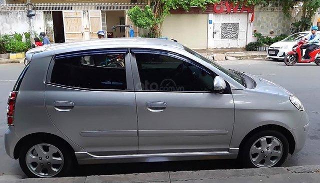 Bán ô tô Kia Morning SLX đời 2008, màu bạc, bảo dưỡng rất kỹ, xe còn mới