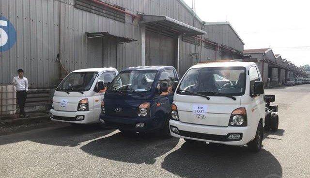 Hyundai Porter 150 1T5 thùng dài 3m đóng thùng theo yêu cầu hỗ trợ vay cao