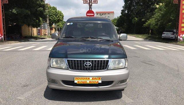 Cần bán xe Toyota Zace GL 2004, màu xanh lục, xe quá chất, zin nguyên 100%